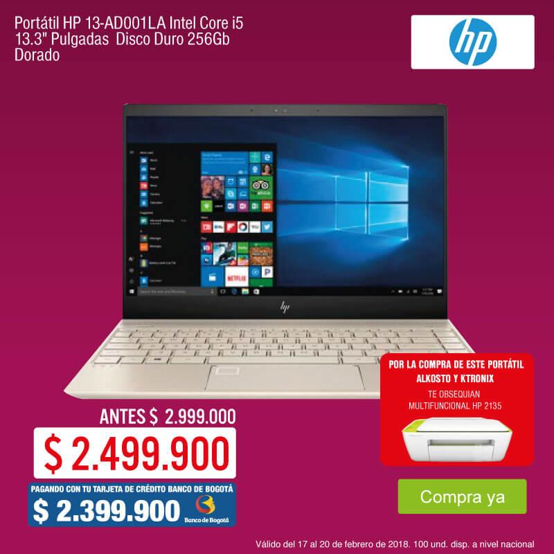 EXTRATOP KT-1-computadores-Portátil HP 13-AD001LA Intel Core i5 13.3