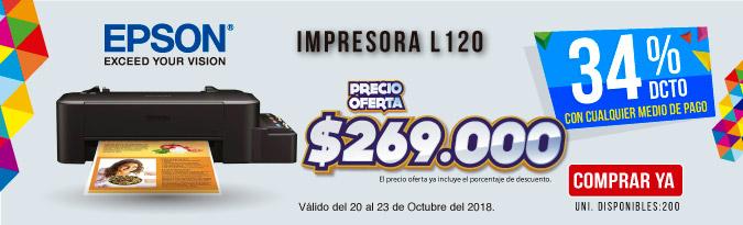HB ALKP Impresora EPSON L120 Negro