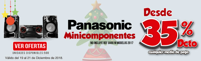 HB ALKP Minicomponetes Panasonic . No incluye ref UA90