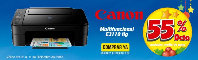 HB ALKP Multifuncional Canon E3110 Hg