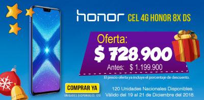 HI ALKP   Cel 4G Honor 8X DS