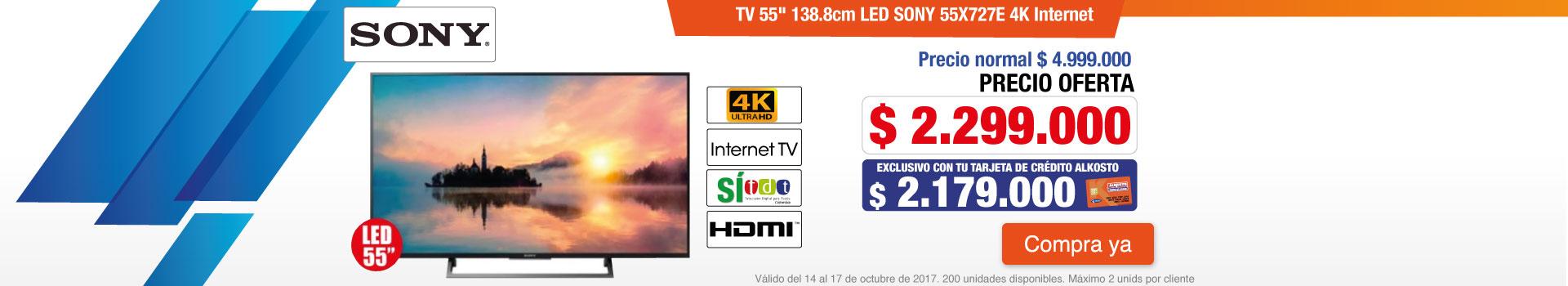CATE AK-2-TELEVISOR SONY 55X727-TV-OCTU14-17