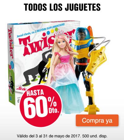 MEGA AK - hasta 60%dto en todos los juguetes - may 3