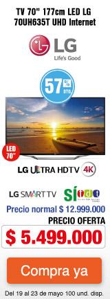 MMenu AK- TV LG 70UH63 - MAYO 19