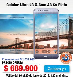 Megamenu - Celular LG X-Cam - Jun21