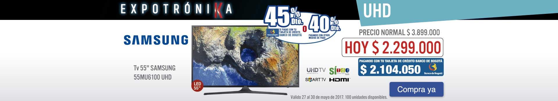 OPC KT- TV SG 55MU61 - MAYO 27