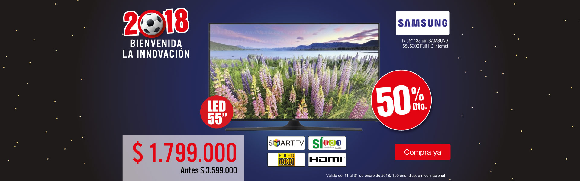 PPAL KT-2-TELEVISOR SG 55J53-TV-ENERO17/19