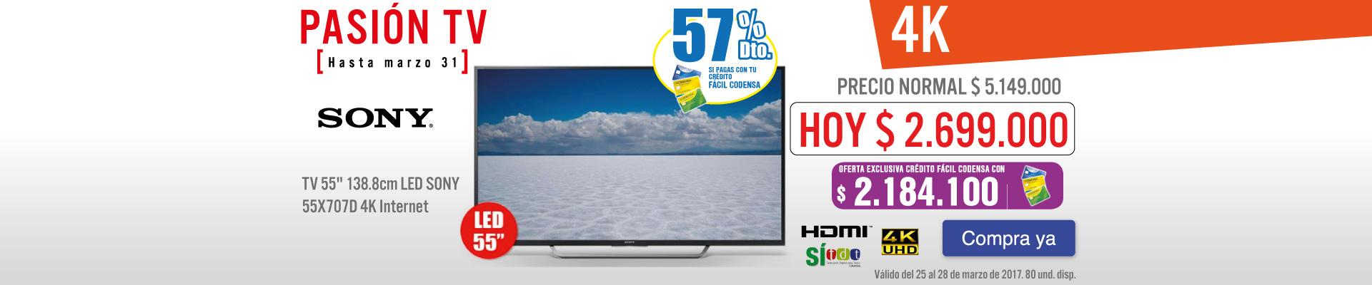 PPAL KT - TV 55X707D - MRZ 25