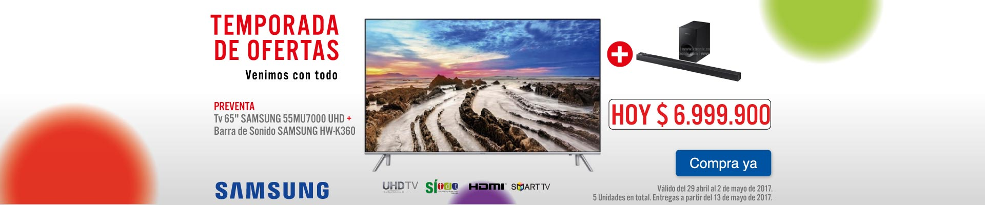 PPAL PREVENTA KTX - TV 65MU70 - ABR 29