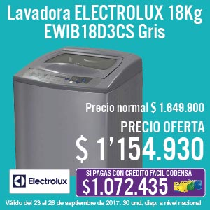 TCAT KT-4-LB-ELECTROLUX18kg-EWIB18D3CS-prod-septiembre23-26