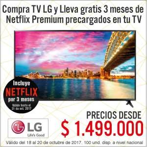 TCAT KT-3-TELEVISORES LG CON NETFLIX-TV-OCTU18-20
