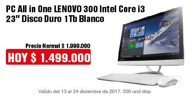 TCAT AK-7-computadores-PC All in One LENOVO 300 Intel Core i3 23