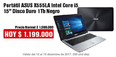 TCAT AK-2-computadores-Portátil ASUS X555LA Intel Core i5 15