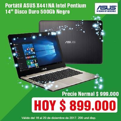 BIGTOP AK-2-computadores-Portátil ASUS X441NA Intel Pentium 14