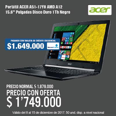 BIGTOP KT-2-computadores-Portátil ACER A51-17Y8 AMD A12 15.6