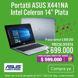 TCAT KT-2-computadores-Portátil ASUS X441NA  Intel Celeron 14
