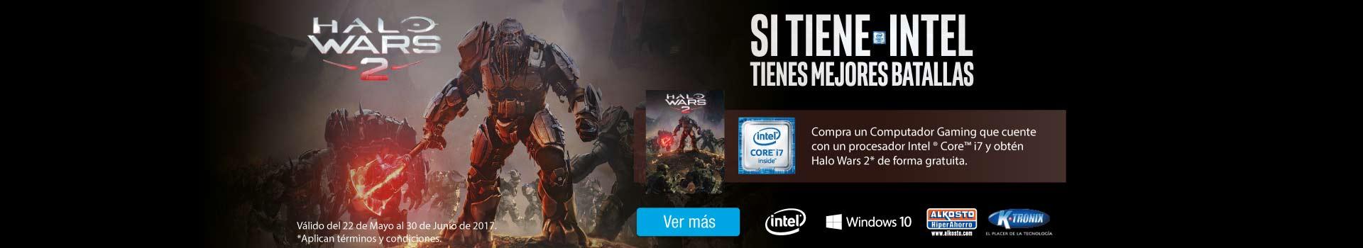 CAT AK y KT - Campaña Halo Wars Intel - Jun 2