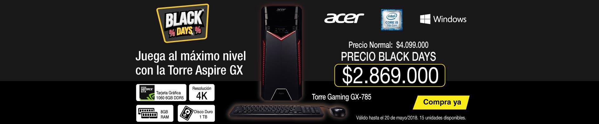 PPAL ALKP-7-tv-PC Gamer ACER - GX-785-SR11 - Intel Core i5 - Disco Duro 1TB - Negro-prod-Mayo18-20