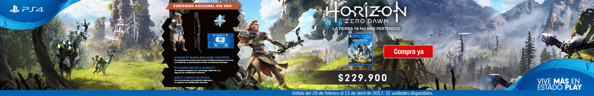 banner Horizon Zero Dawn