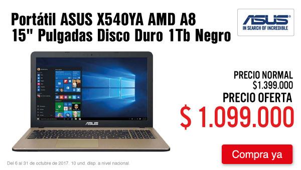 DEST KT-2-computadores-Portátil ASUS X540YA AMD A8 15