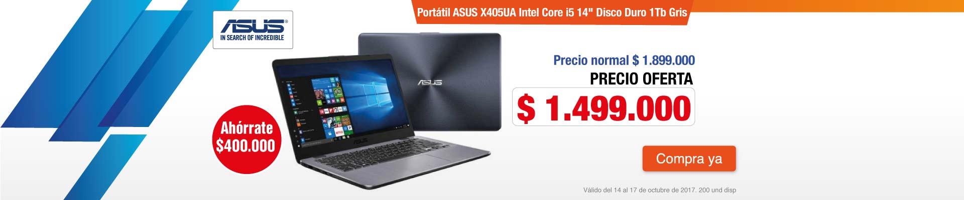 PPAL AK-2-computadores-Portátil ASUS X405UA Intel Core i5 14