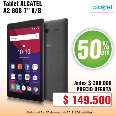 BIG AK-4-computadores-Tablet ALCATEL A2 8GB 7