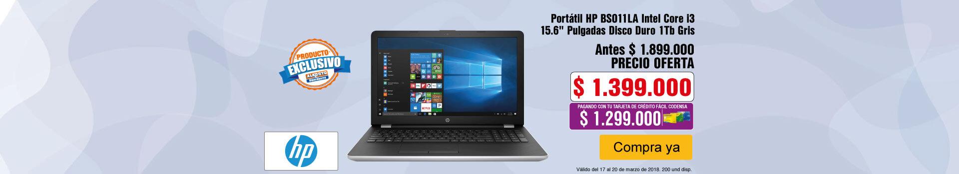CAT AK-KT-2-computadores-Portátil HP BS011LA Intel Core i3 15.6