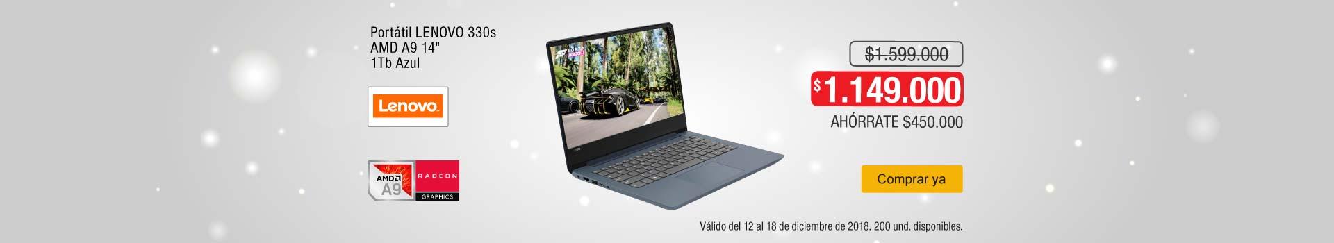 AK-KT-BCAT-2-computadores y tablets-PP---Lenovo-Portátil 330s A9-dic15
