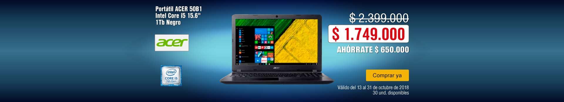 KT-BCAT-4-computadores y tablets-PP---Acer-Portátil 50B1-Oct17