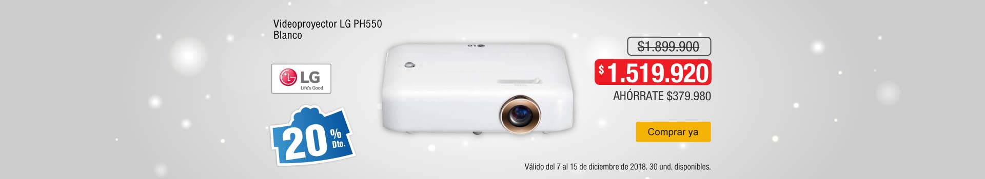 AK-KT-BCAT-1-computadores y tablets-videoproyectores-PP---LG-Videoproyector PH550-dic12