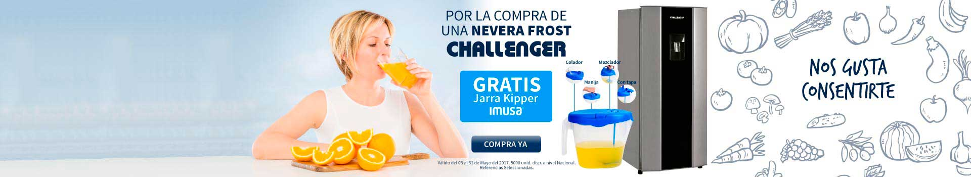 CAT ELECT - mayo 5 - Obsequios CHALLENGER Neveras FROST