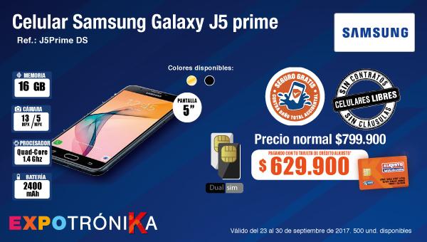 DEST AK SAMSUNG-3-celulares-samsungGalaxyJ5-TCA-prod-septiembre23-26