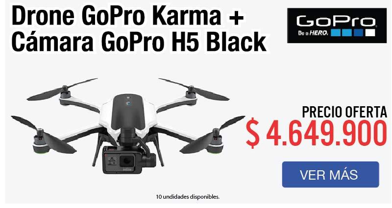 MENU Drone Karma con Cámara 23 enero