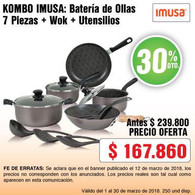BIGTOP AK-10-kombo-imusa-juego-ollas-wok-utensilios-mar12-13