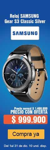 MENU Accesorios Samsung Gear S3