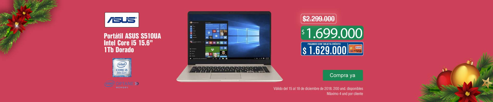KT-CYBERSANTA-PPAL-4-computadores y tablets-PP---Asus-Portátil S510UA-dic15