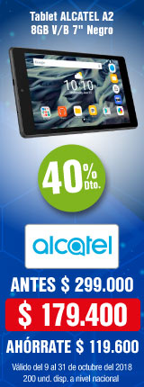 AK-KT-MENU-1-computadores y tablets-PP---Alcatel-40% Dto. En Tablet A2 8GB-Oct17