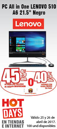 MMENU AK INF - PC All in One LENOVO 510 A6 21.5