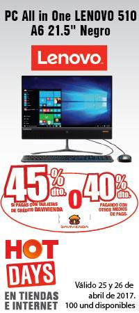 MMENU AK INF - PC All in One LENOVO 510 A6 21.5