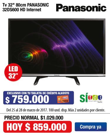 OFER KT- TV PANA 32DS600 - MRZ 25