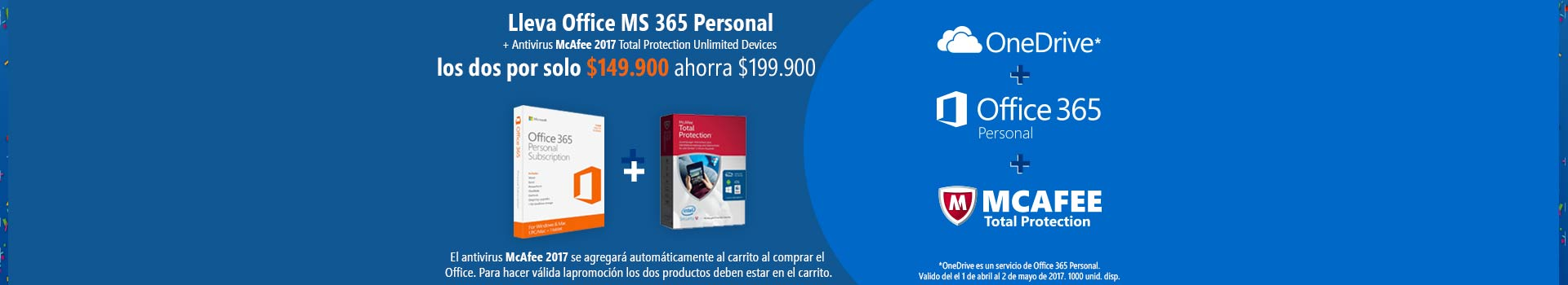 CAT Microsoft Office + Antivirus 5 Abr
