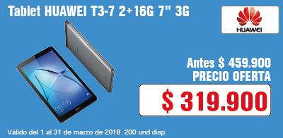 TCAT AK-6-computadores-Tablet HUAWEI T3-7 2+16G 7