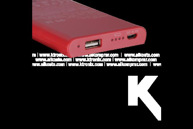 Batería Recargable SONY 5.000 mAh Rojo