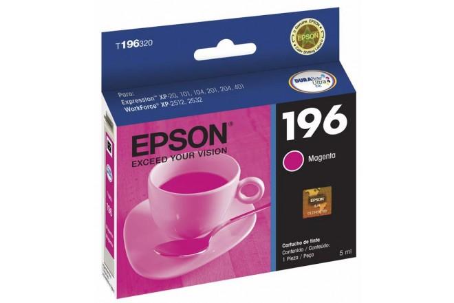 Cartucho EPSON T196320 Magenta