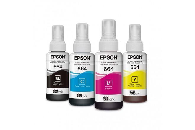 Kit 4 Botellas 664 EPSON