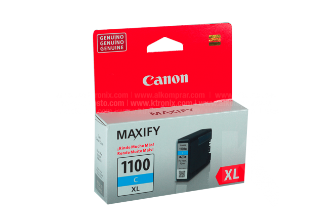 Tinta CANON PGI-1100XL Cyan
