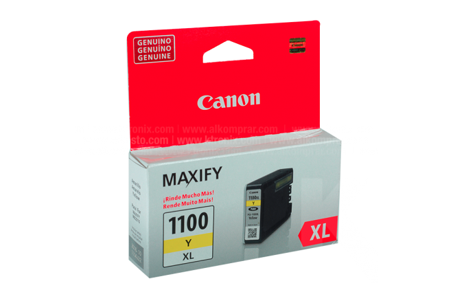 Tinta CANON PGI-1100XL Yellow