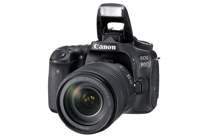 Cámara CANON Profesional EOS 80D + Lente 18-135 N