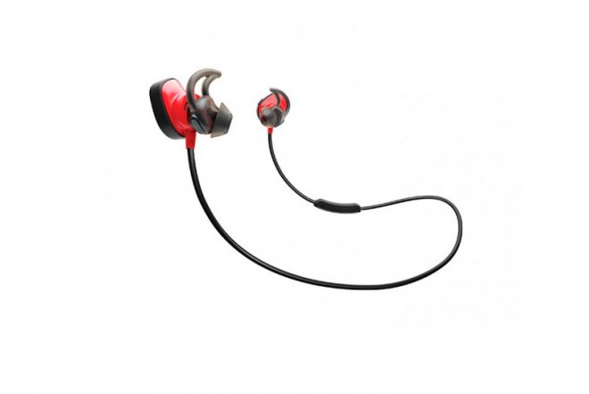 Audífonos In Ear Inalámbricos BOSE SoundSport Pulse Rojo