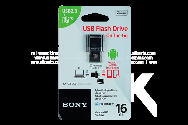 Memoria SONY Smartphone 16GB Negro